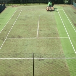 Sports Pitch Rejuvenation in Adbaston 8