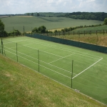 Synthetic Pitch Maintenance in Brechfa 1
