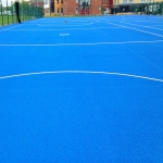 Drag Mat Pitch Maintenance in Aldersey Park 3
