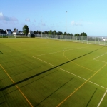 Synthetic Pitch Safety Tests in Dalabrog an Iar 6