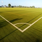 Synthetic Pitch Maintenance in Aberchalder 1