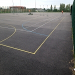Sports Pitch Rejuvenation in Adbaston 4
