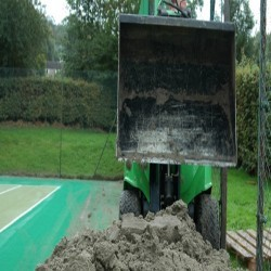 Drag Mat Pitch Maintenance in Pole's Hole 7