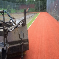Synthetic Turf Drag Brushing in Backhill of Clackriach 8