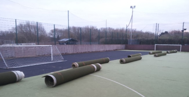 Artificial Pitch Upgrade in Bromley Green