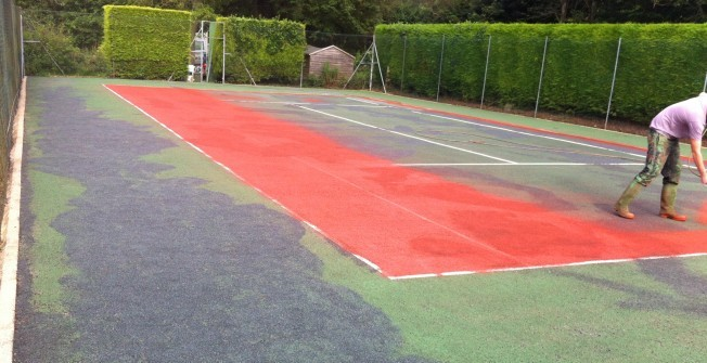 Artificial MUGA Maintenance in Aldreth