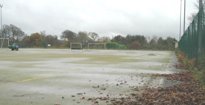 Compacted Turf Infill in Inverclyde