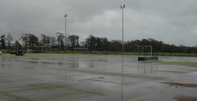 Artificial Turf Pitch Flooding in Badger's Hill