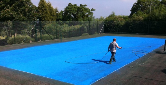 Tennis Court Specialists in Aberdare/Aberdar