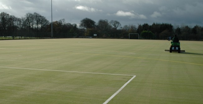 Hockey Pitch Cleaners in Aber-Gi
