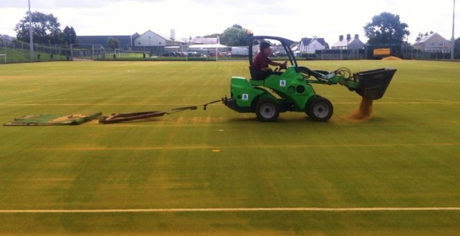 Synthetic Pitch Rejuvenation in Adbaston