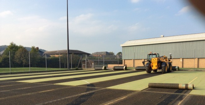 Pitch Maintenance Plant in Abernant
