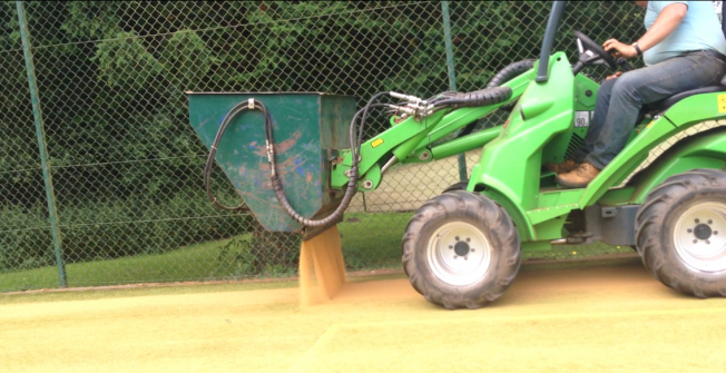 Rejuvenating Artificial Turf in Adbaston