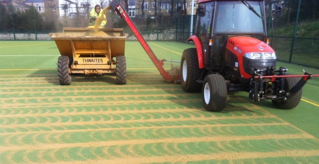 All Weather Pitch Cleaning in Penbryn