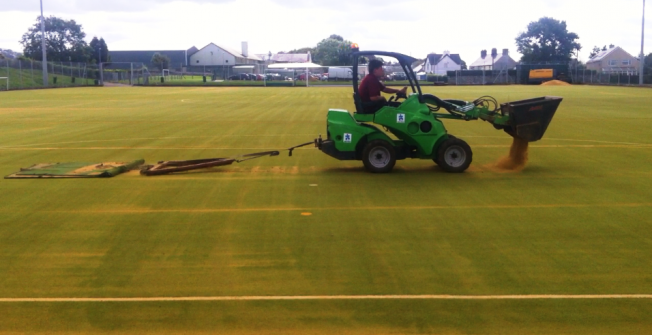 2G Pitch Cleaning in Chart Corner