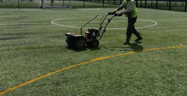 Decompacting Sports Surfaces in Deeping Gate