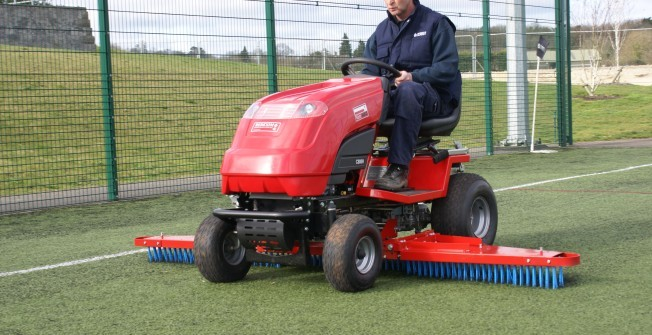 Maintaining Sports Courts  in Northumberland