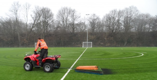 Artificial Pitch Repairs in Auchencairn
