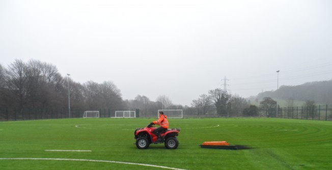 3G Pitch Maintenance in West Lothian